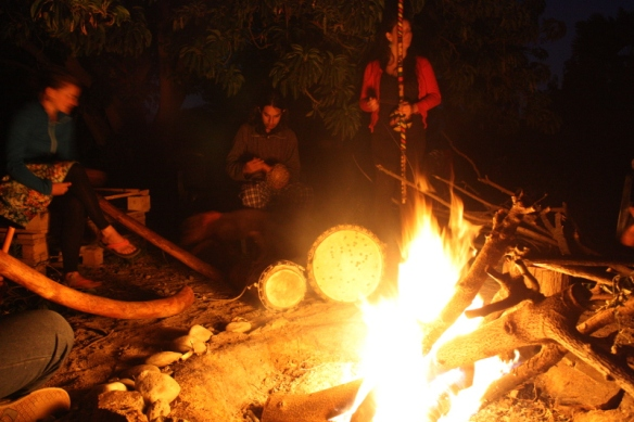 Fuego y Música